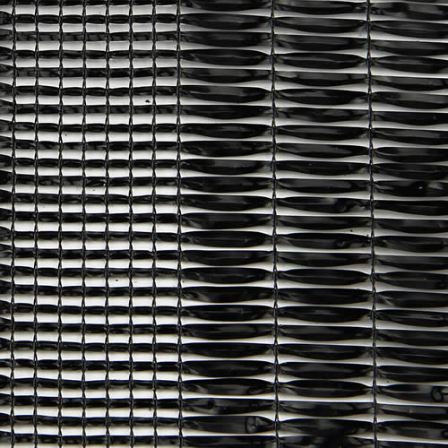 Black HDPE Shade Net Mesh